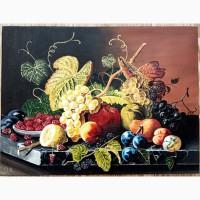 Картина Натюрморт с фруктами (холст. масло, 30х40 см)
