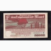 50 000 марок 1923г. Мёнхенгладбах. В 62192 Германия