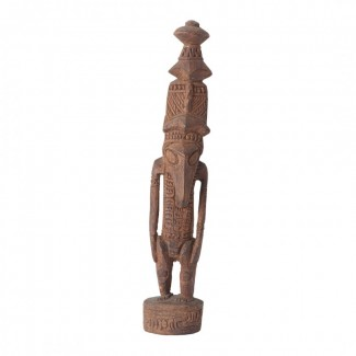 Статуэтка папуасов Меланезия (Новая Гвинея). Фигурка духа предков долины Сепик