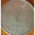 1 доллар Гонконг