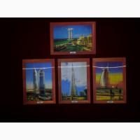 Трехмерные открытки с видами Дубаи