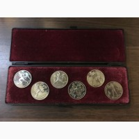 1 рубль 1991 год. Набор монет Барселона 1992