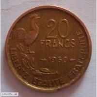 Набор Франция 50е 2шт