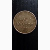 Монета 100.000 лир, Турция, перевёртыш