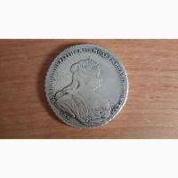 Монета рубль 1738 СПБ