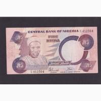 5 найра 1984г. Нигерия. 412364