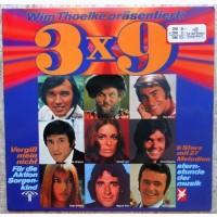 LP Сборник 3x9 - 9 Stars Mit 27 Melodien