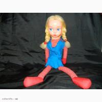 Кукла старинная Польша, целлулоид, опилки, 1950х