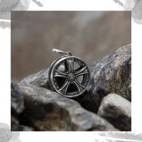 Срібний чоловічий кулон оберіг «Підкорення висот»