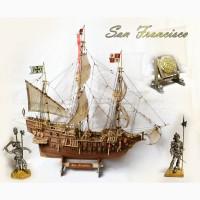 Модель испанского галеона San Francisco. Авторская ручная работа