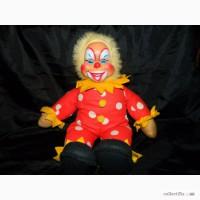 Винтажная Кукла Клоун Rushton Clown 50-70г. USA