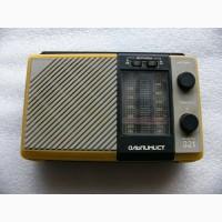Портативный радиоприёмник Альпинист-321 СССР
