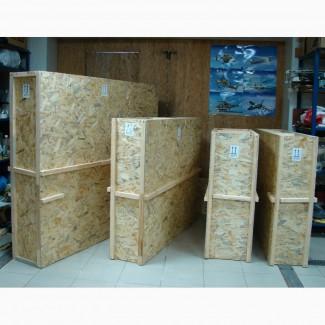 Ящики для пересылки перевозки картин из OSB или фанеры