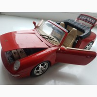 1:18 Porsche 911 Carrera Cabrio