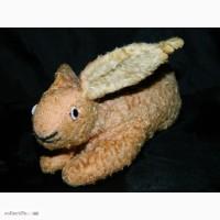 Антикварная Игрушка Кролик Заяц Заєць Rabbit Bunny опилки 1900-1930г