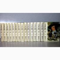 Дюма Александр Собрание сочинений в 15 томах 1991, в суперобложках