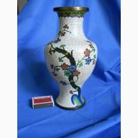 Китайская ваза клуазоне