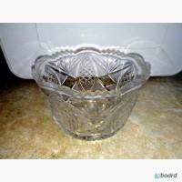 Хрустальная ваза. Производство СССР