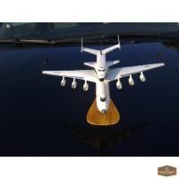 Сувенирная модель самолета Ан-225 (Мрия + Буран) - Киев.