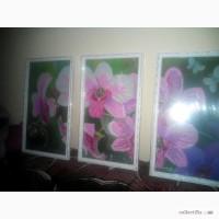 Продам картину бісером Орхідея