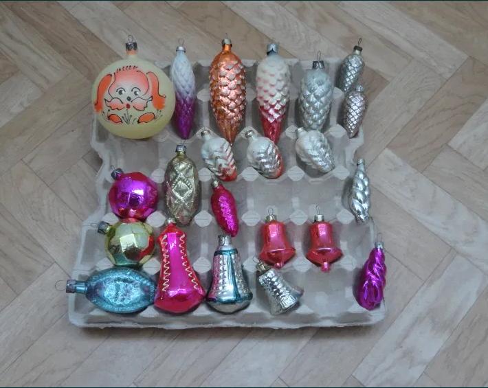 Фото 4. Елочные игрушки СССР