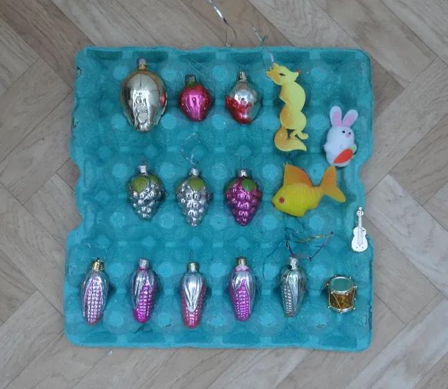 Фото 6. Елочные игрушки СССР