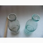 Две литровых бутылки из под молока, МСЗ, СССР