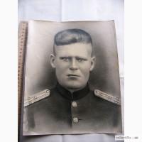 Фото офицера Красной Армии, Большое 40-е