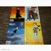 4 Журнала Комиксов Неми Nemi на норвежском