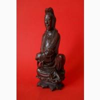 Старинная Китайская статуэтка из ценного дерева Rose Tree