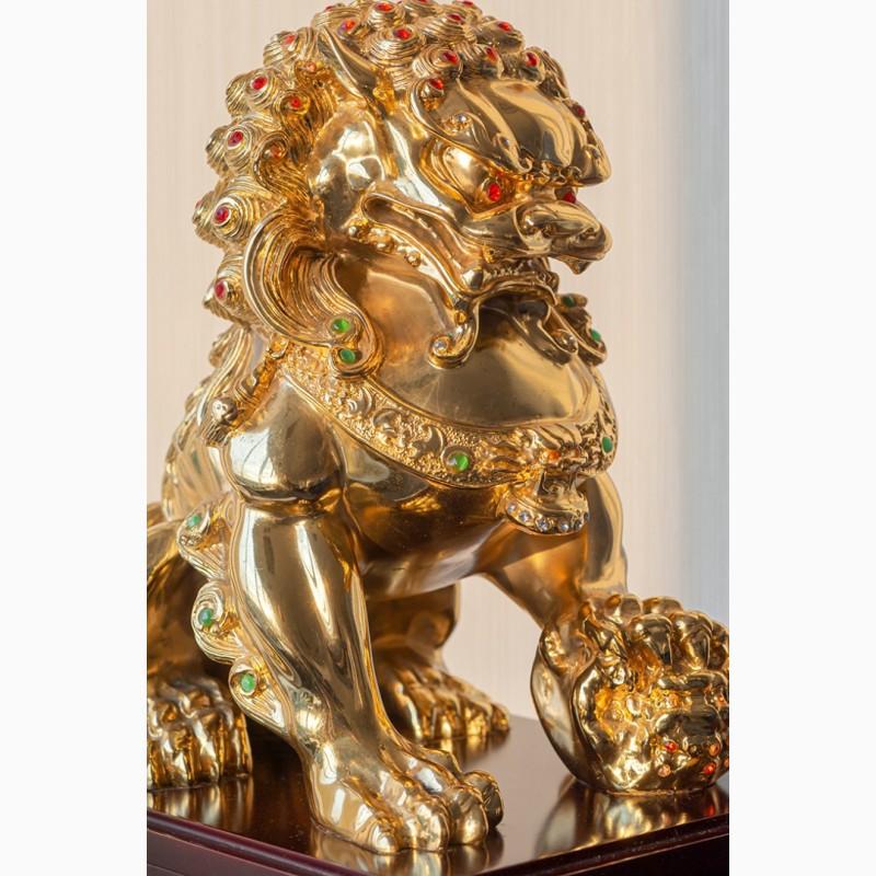 Фото 13. Китайская статуэтка фигурка Собака Фу Небесный лев Будды Собако-Лев Китайский лев Китай