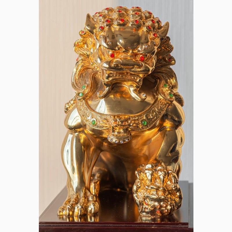 Фото 14. Китайская статуэтка фигурка Собака Фу Небесный лев Будды Собако-Лев Китайский лев Китай