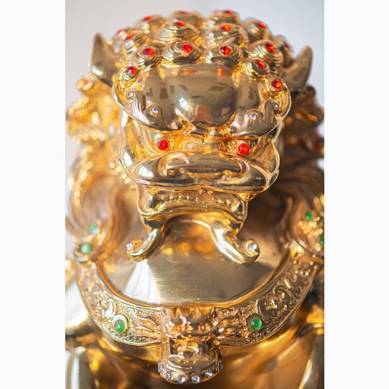 Фото 16. Китайская статуэтка фигурка Собака Фу Небесный лев Будды Собако-Лев Китайский лев Китай