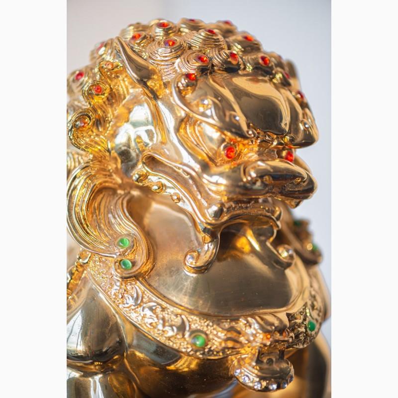 Фото 17. Китайская статуэтка фигурка Собака Фу Небесный лев Будды Собако-Лев Китайский лев Китай