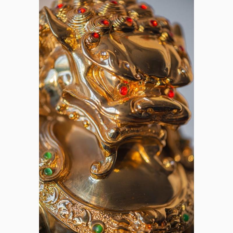 Фото 18. Китайская статуэтка фигурка Собака Фу Небесный лев Будды Собако-Лев Китайский лев Китай