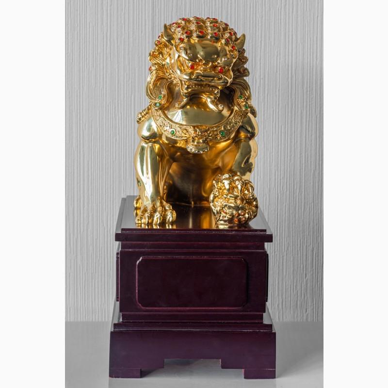 Фото 2. Китайская статуэтка фигурка Собака Фу Небесный лев Будды Собако-Лев Китайский лев Китай