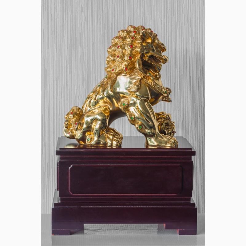 Фото 5. Китайская статуэтка фигурка Собака Фу Небесный лев Будды Собако-Лев Китайский лев Китай