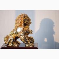 Китайская статуэтка фигурка Собака Фу Небесный лев Будды Собако-Лев Китайский лев Китай