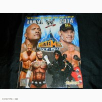 Книга Wrestlemania WWE wrestling рестлинг реслинг