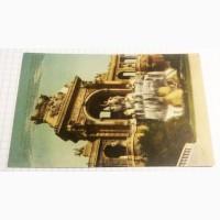 Открытка (ПК). Марсель. Дворец Лоншан. Фонтан. Грот-арка. Лот 296