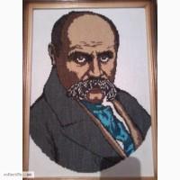 Вишитий портрет Шечвенка