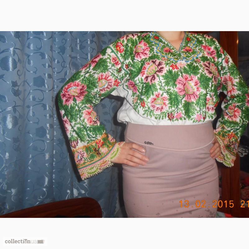 Продам вишита сорочка чеським бісером 9b4aa9bd6276e