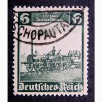 Марка Германия серия паровоз, локомотив 1935 год