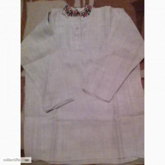 Продам старинную мужскую лляную вышиванку