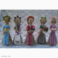 Кукла-мотанка Берегиня (льняная нить) Оберег-подарок в дом