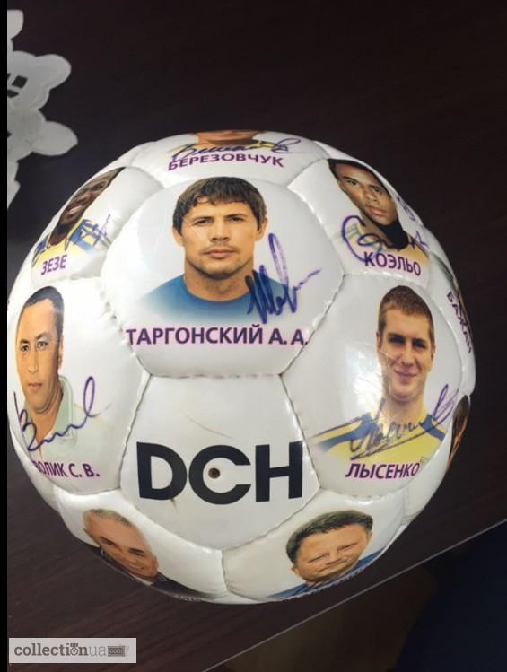 футболка динамо киев с автографами