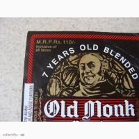 Этикетка 1 OLD MONK (Индия)