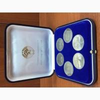 Набор 1 рубль Олимпиада 80 пруф