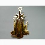 Елочные Игрушки Georg Jensen Christmas Ornaments золото 24 карата
