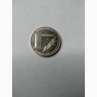Монета 1 Фактор 2002 год. UA жетон НБУ